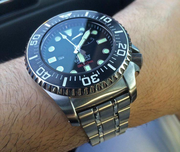 Orient Diver Automatic Saturation Diver Cfd0c001b Watch