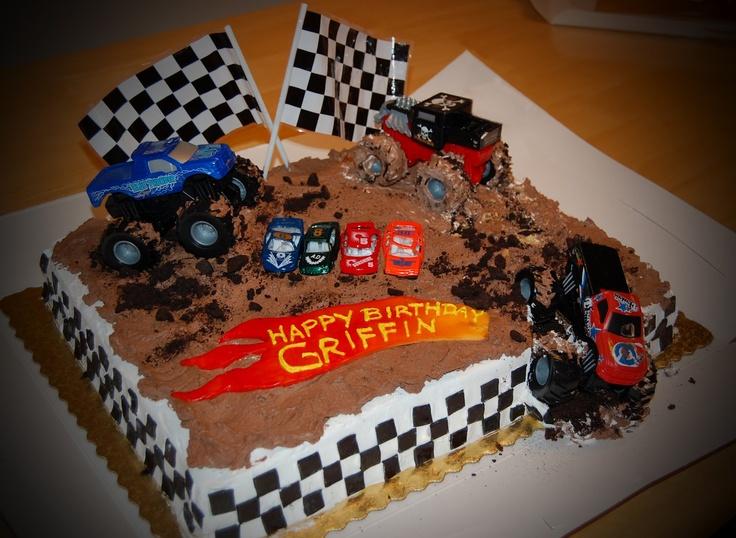 Sassyfrass Studios - Monster Truck Cake