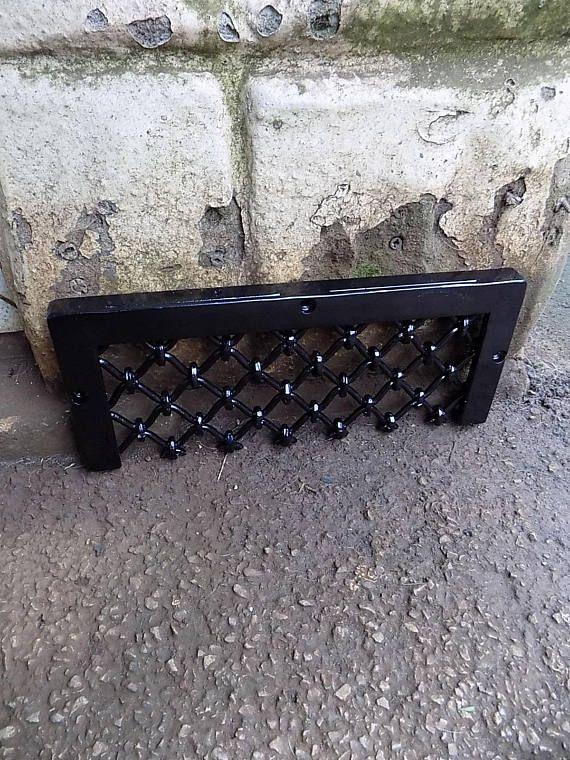 custom air brick cover.....................Wrought Iron