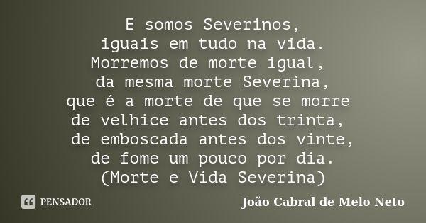 Joao Cabral De Melo Neto Pensadores Morte E Poemas