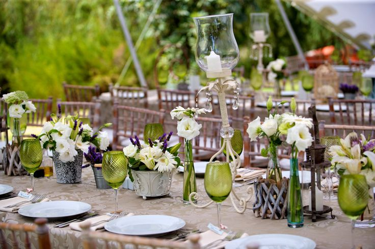 {Amanda & Darren} rustic styled green & purple wedding by the lake