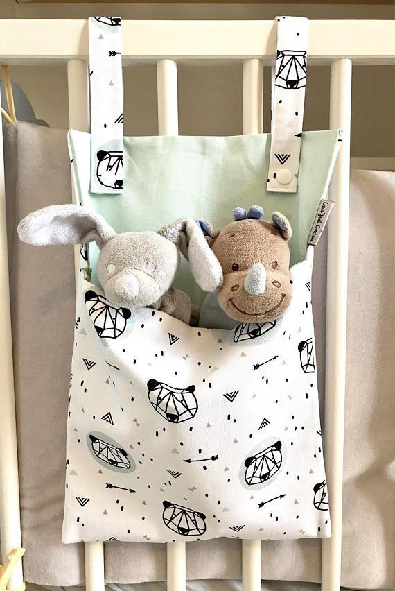 Range doudou / range jouet / range pyjama cadeau naissance