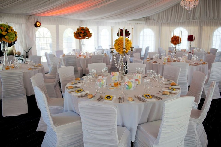 Reception styling at Caversham House www.touchedbyangels.com.au