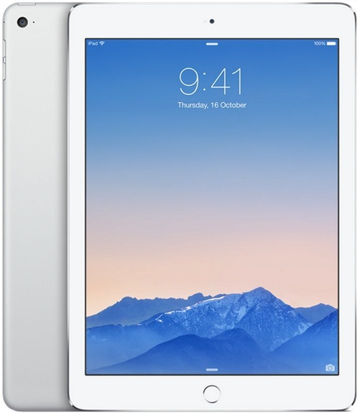 Image of Apple iPad Air 2 16GB WiFi Tablet - Silver