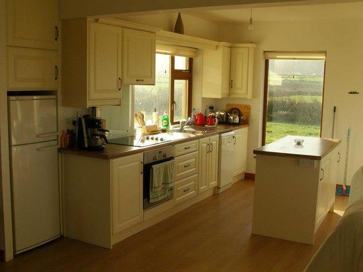 Ash and Blond Walnut Kitchen lawlessfurniture.com