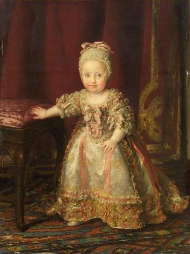 Anton Raphael Mengs Infantin Maria Theresa von Neapel