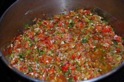 Hot pepper relish.