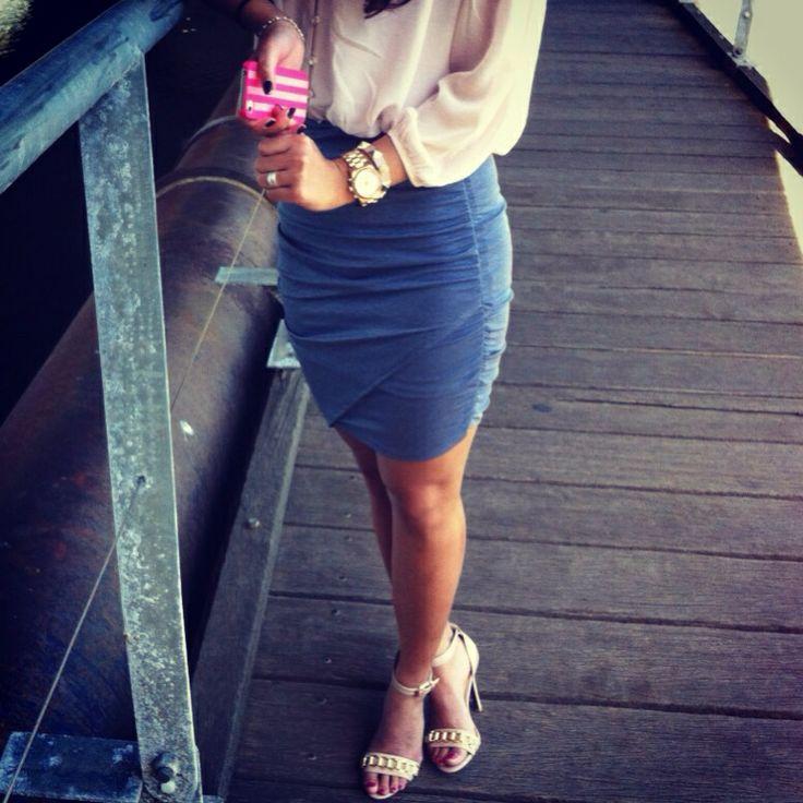 Loving wrap skirts