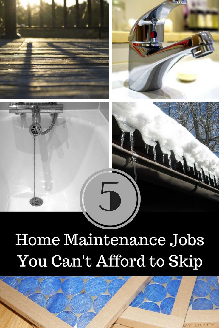 Home maintenance isn't usually at the top of my to-do list, but I recognize how important it is. Skipping or forgetting to take care of your home can result in even bigger costs later. Here are 5 home maintenance jobs you can't afford to skip! #1 – Cleaning Out Your Gutters You'll want to clean …