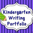 MUST HAVE KINDERGARTEN WRITING PORTFOLIO GREAT VALUE!! Package includes Portfolio Cover with 4 writing prompts to be administered at four points th...