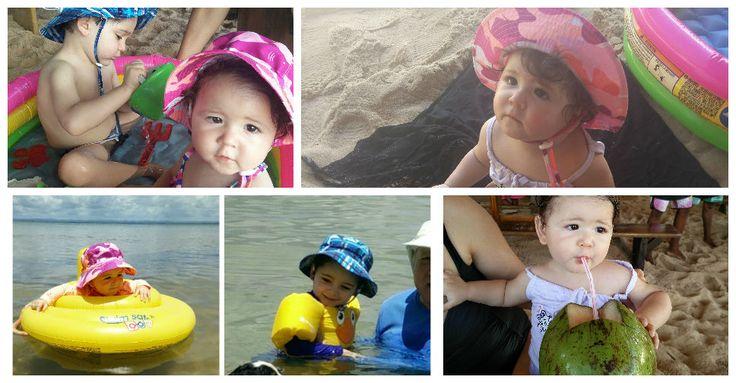 Dicas para ir a praia com bebê e criança com tranquilidade