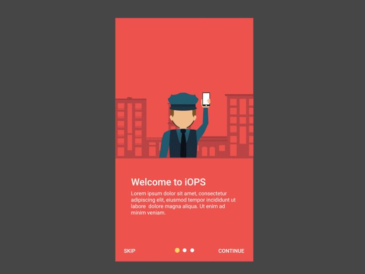 """Onboarding screen for an enterprise app which I did a while ago. The app helps security professionals to manage their day to day tasks.  Show some love by pressing """"L"""". Follow me if you don't want ..."""