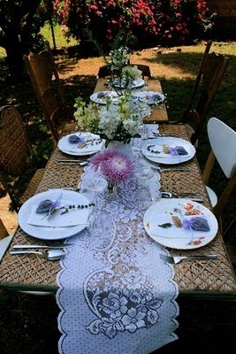 country table setting