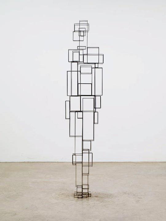 Antony Gormley, Construct VI, 2011 © Antony Gormley – Courtesy Galerie Thaddaeus Ropac