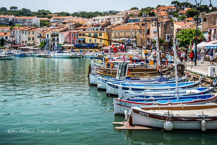 Boats in Cassis - FRANCE 2014