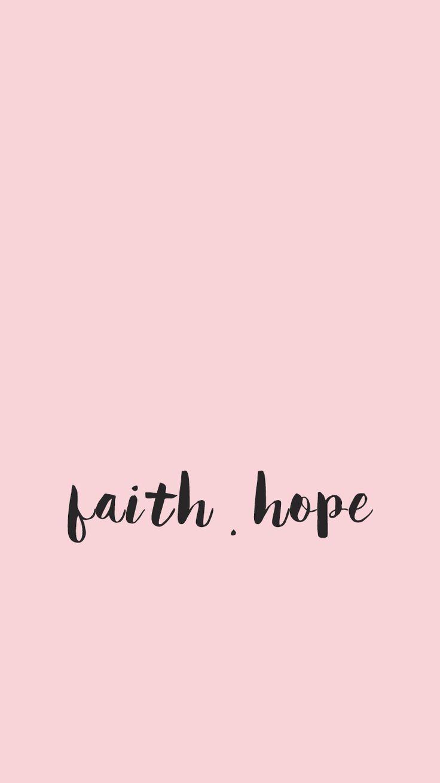Fé esperança