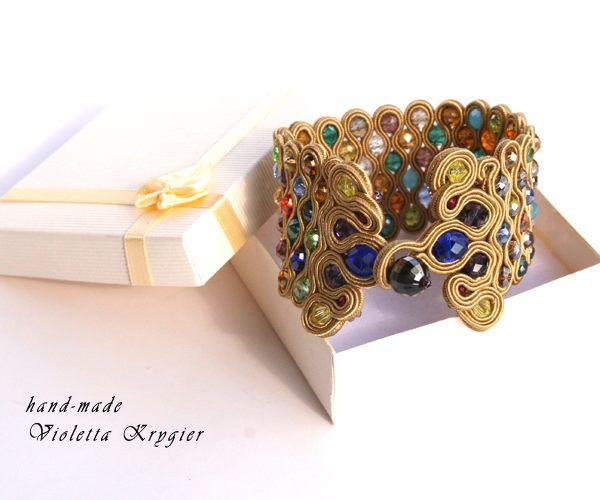 The Golden Braclet- back side, if you want to purchase it, search for violettakrygier on facebook :)