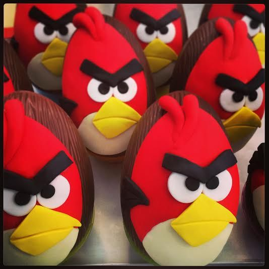 Angry, angry #Birds! www.thesweetspot.gr