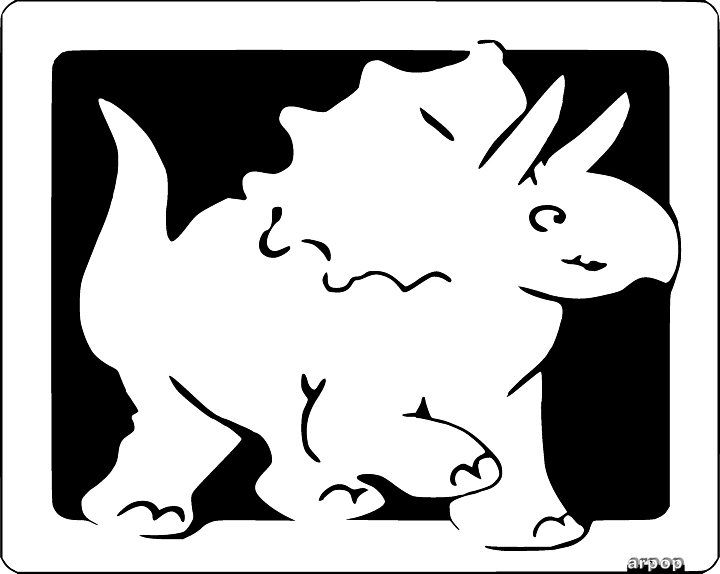 2 dinosaur picture patterns for the kids scroll saw