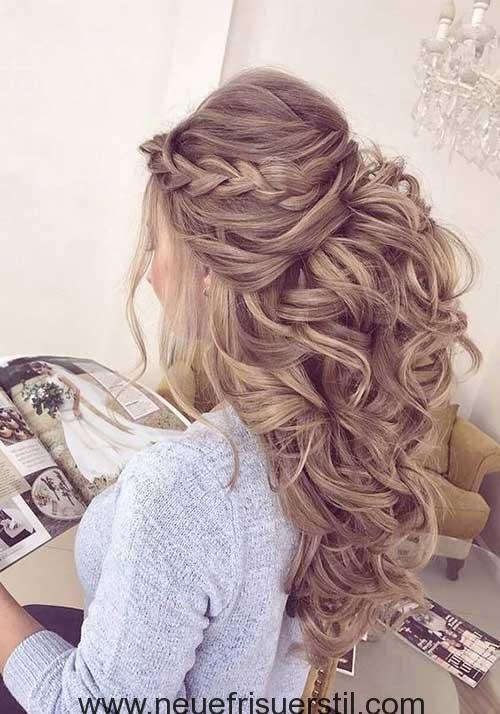 Schöne Lange Hochzeit Frisuren für Damen