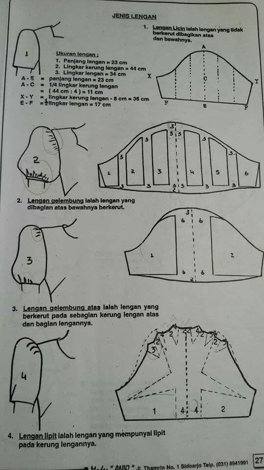 sleeves drafting