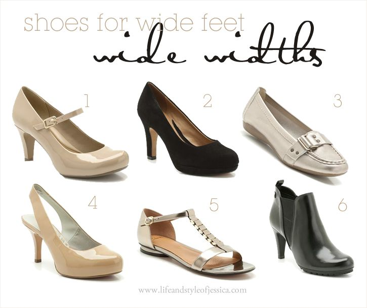 Wide Width Shoes by Life & Style of Jessica Kane { a body acceptance and plus size fashion blog }