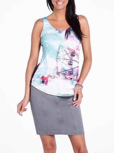 Printed Tank   Women   Shop Online at Reitmans