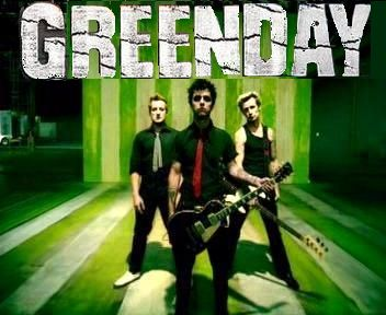 Green Day makes me happy.