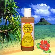 Maui Babe browning lotion $14.99