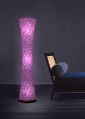 Cool Relaxing Purple Floor Lamp