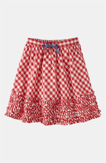 Mini Boden Ruffle Hem Skirt (Little Girls & Big Girls) available at #Nordstrom #SkirtsOnly