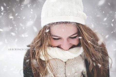 winter senior pictures | Claire ~ Snowy, Winter Senior Pictures ~ Madison, WI