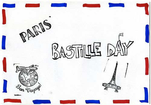 typical bastille day menu