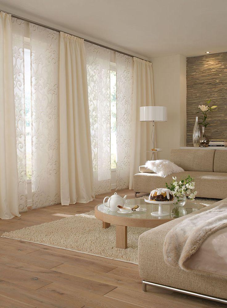 Best 25 Gardinenschiene ideas on Pinterest  beige Wnde Schlafzimmer Gardinen wohnzimmer and
