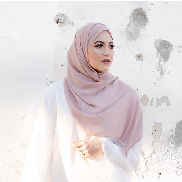 Bridal Rose LUXURY Chiffon Wrap | Voile Chic | Hijab Shop Online