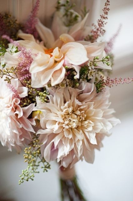 Dahlias make a big statement. These are one of my favorite flowers!