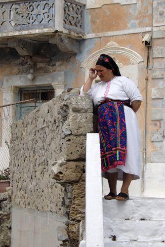 Karpathian woman #karpathos #greece