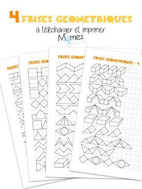 Les frises géométriques sont un exercice très connus de nos parents et grands-parents qui les utilisaient dans leurs cahiers d'écoliers Seyes pour décorer et séparer différents éléments du cours ! Réaliser ces frises géométriques demande de la rigueur, de