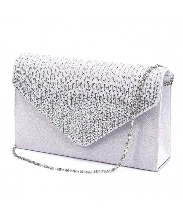 New Ladies Faux Patent Leather Envelope Wedding Evening Clutch Bag