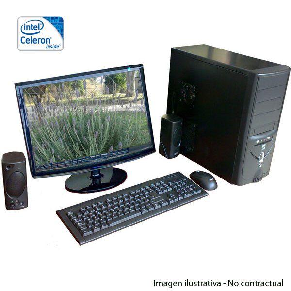 Combo informático: Pc escritorio + monitor + info en www.clipercompras.com