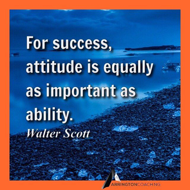 Is your attitude affecting your ability? #tuesday #motivation #success #business #entrepreneur #inspiration #quotes #hr #newweek #hamptonroads
