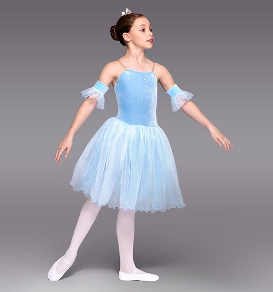 """Winter Princess"" Girls Romantic Tutu Dress - Style Number: TH1080C"