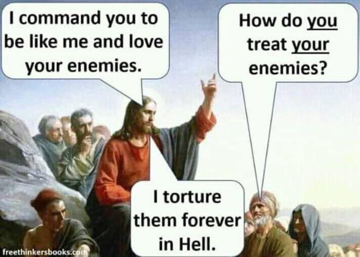 Love Thy Neighbor Atheist Humor Atheism Humor Atheist