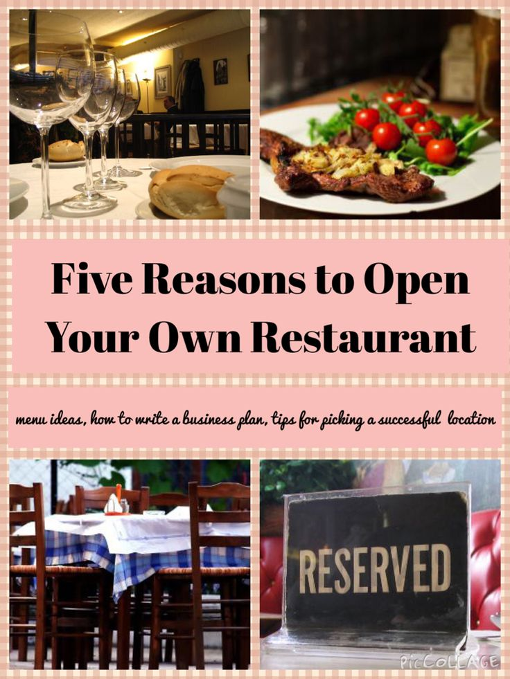 Five good reasons that you would make a good restaurant owner. Patience, business sense and good communication skills are just a few traits that you should have