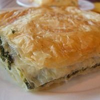 Spinach Pie (Albanian Name: Byrek me spinaq)