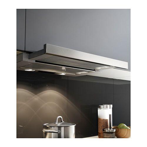 utdrag hotte aspirante int gr e ikealargeur 60 0 cm prof min 30 0 cm profondeur max 45 5. Black Bedroom Furniture Sets. Home Design Ideas