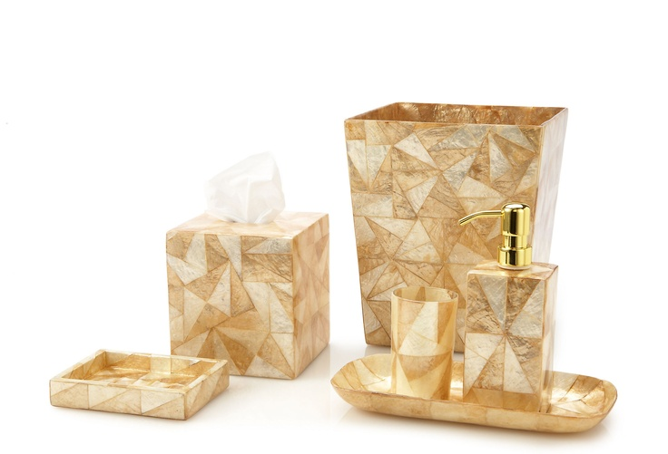 121 best images about capiz shells on pinterest the - Capiz shell bathroom accessories ...