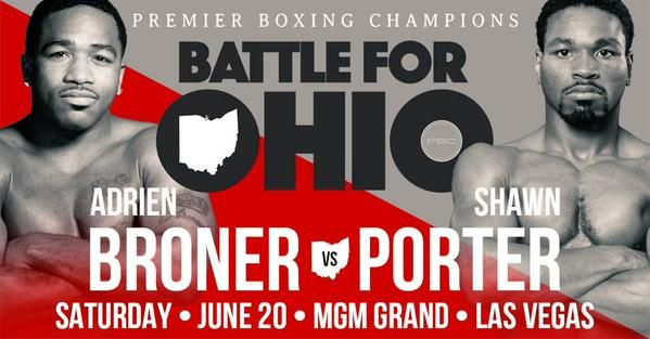 Despite Ohio Uproar Porter Says Broner Fight is Happening Where it Belongs