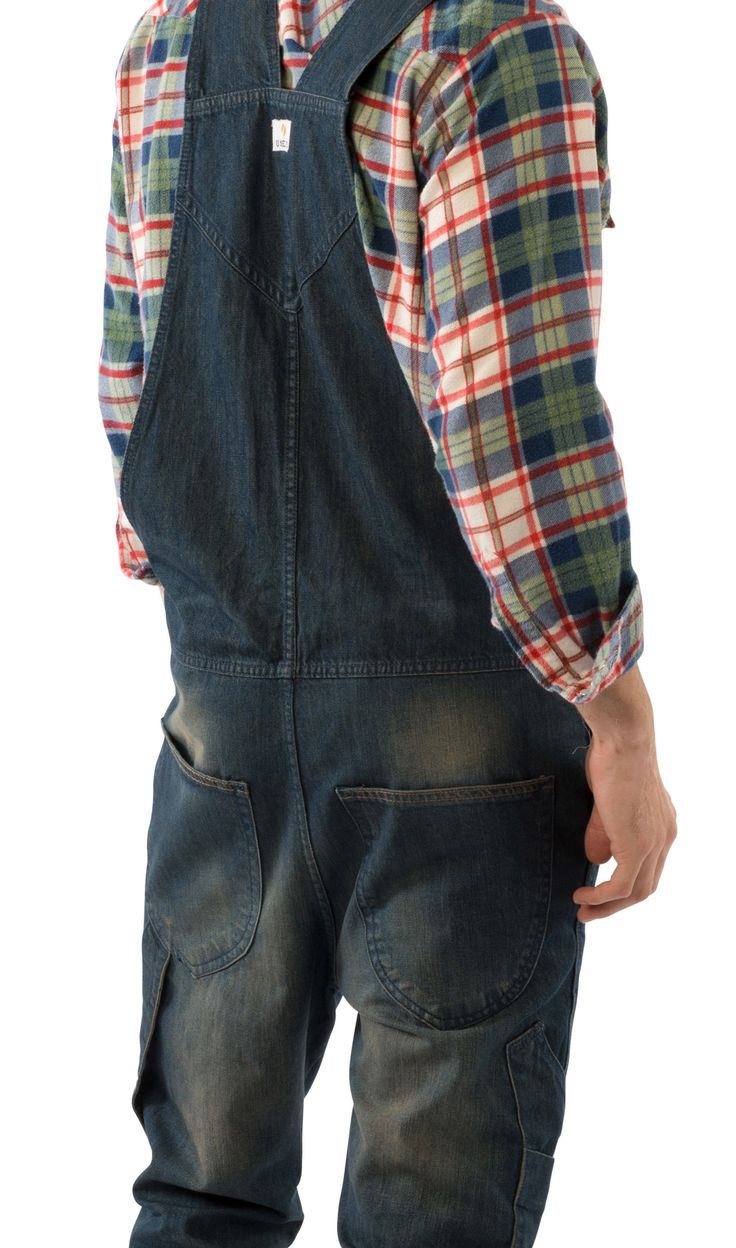 Overalls Are Making A Comeback As The Latest Fashion Trend: USKEES TOBY Slim Fit Men's Dungarees