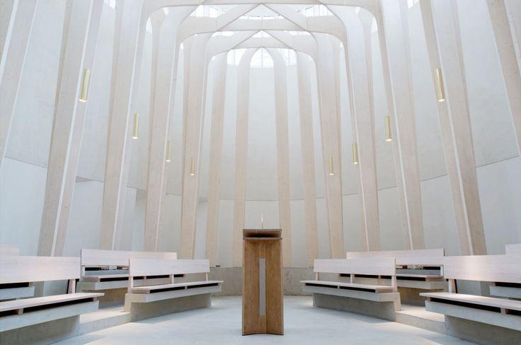 Niall McLaughlin, NAARO · Bishop Edward King Chapel, Oxford · Divisare